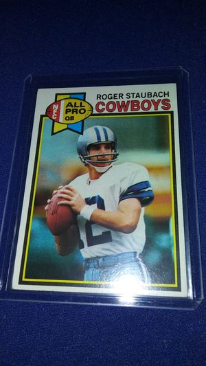 1979 Rodger Staubach Dallas Cowboys football card for Sale in Garland, TX
