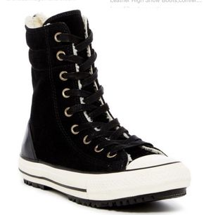 Women's Converse High Top Fur Snow boot for Sale in San Diego, CA