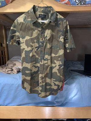 Pacsun camo American flag shirt for Sale in Hollywood, FL