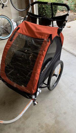 Burley Honey Bee- 2 Seat Kids Bike Trailer & Stroller/ Jogger. for Sale in Chula Vista, CA