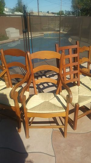 Rustic Wooden chairs for Sale in Phoenix, AZ