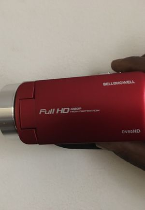 Full hd video camera never been used with brand new 32 gb sd card for Sale in Odenton, MD