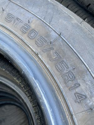 ST205/75/14 Trailer (2 Tires) $80.00/ Both for Sale in Mission Viejo, CA