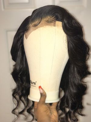 Curled Handmade Lace Closure Wig for Sale in Carrollton, TX