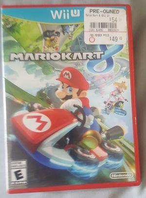 Mario kart 8 Wii u Nintendo for Sale in Southampton, PA