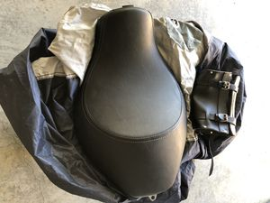 Harley Davidson Sportster Solo Seat, Tool Bag and Motorcycle Cover for Sale in Murfreesboro, TN