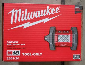 Milwaukee 2361-20 flood light led for Sale in Modesto, CA