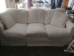White Couch with washable cover for Sale in Arvada, CO