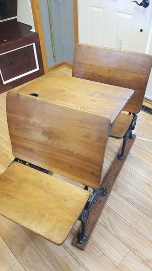 Minneapolis O&S F C Antique school desk for Sale in Nowthen, MN