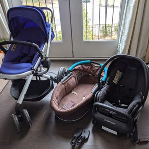 Quincy Stroller+bassinet+Infant Car Seat for Sale in Decatur, GA