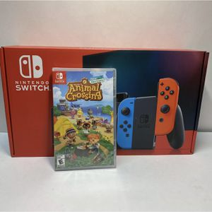 Nintendo Switch animal crossing game bundle brand New and Sealed never opened! for Sale in Brooklyn, NY