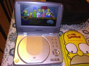 Mintek 7-Inch Portable DVD Player + Simpsons season 6 for Sale in Monterey Park, CA