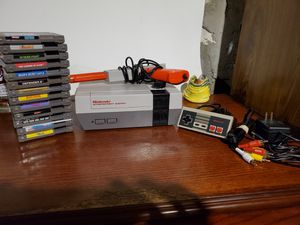 Nintendo NES with games for Sale in Pawtucket, RI