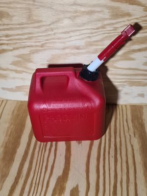 Gas can sealed 2 gallon easy pour spout gasoline fuel for Sale in South Easton, MA