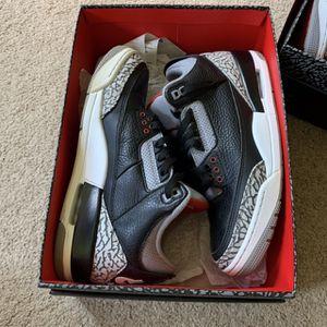 Jordan 3 Black Cement for Sale in Woodbridge, VA