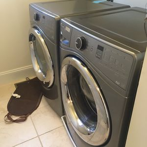 Whirlpool duet steam washer and dryer stackable set Best offer for Sale in Fairfax, VA