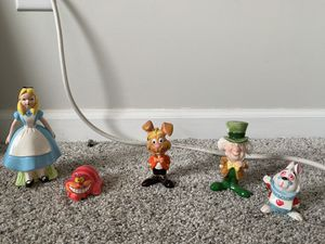 Alice in Wonderland figurines for Sale in Raleigh, NC