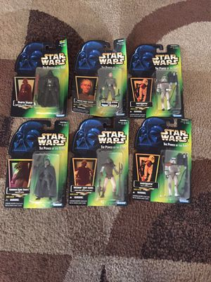 Star Wars collectible action figures for Sale in Inglewood, CA