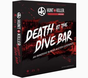 Hunt A Killer Death at The Dive Bar, Immersive Murder Mystery Game -Take on the Unsolved Case as an Independent Challenge, for Date Night or with Fami for Sale in Costa Mesa,  CA