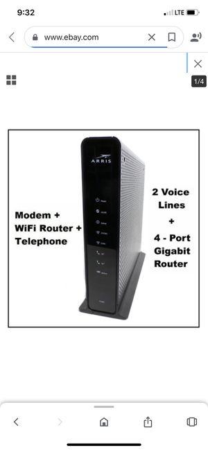 Arris TG1682 modem for Sale in Bakersfield, CA