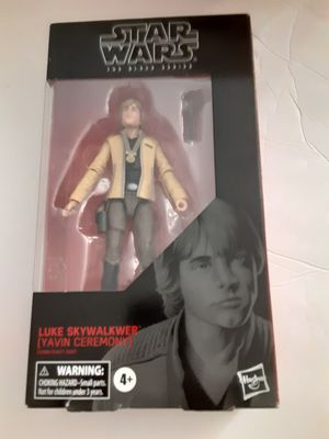 "Star Wars Yavin Ceremony Luke Skywalker Black Series 6"" Hasbro Action Figure 100 for Sale in Miami, FL"