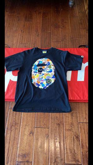 Multi-Camo Bape Tee Shirt for Sale in Seattle, WA