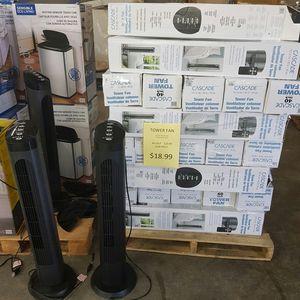 """Cascade 40"""""""" Tower Fan Multi Speed for Sale in Ontario, CA"""