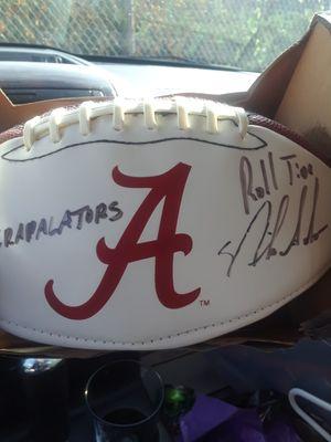 Nick saban signed football for Sale in DeFuniak Springs, FL