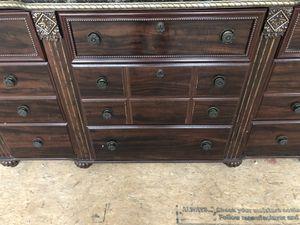 Dresser, mirror & Queen size headboard for Sale in Manassas, VA