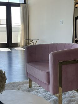 Pink and Gold Chairs for Sale in Culver City,  CA