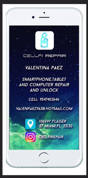 Reparo de celular, venta y compra de celular for Sale in Miami, FL