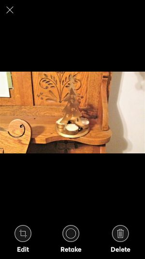 GOLDEN TREE CANDLEHOLDER WITH TEALIGHTS--COMES GIFT BOXED for Sale in Lynchburg, VA