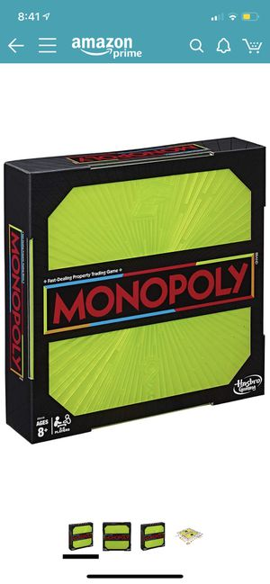 Monopoly neon pop board game for Sale in Katy, TX