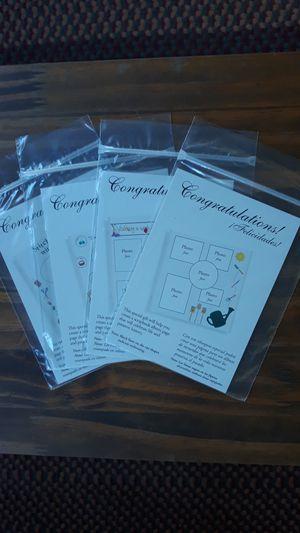 4 pack Creative Memories Congratulation Idea Sticker sets for Sale in Due West, SC