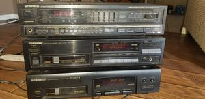 Pioneer lot 2 6 disc cd changers stereo receiver all 3 working 125.00 for Sale in La Mirada, CA