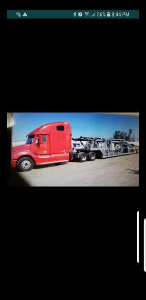 Car hauler trailer only. 8 car sometimes 9 car. Model JM. Year 2000. PTO pump on trailer. for Sale in Atlanta, GA