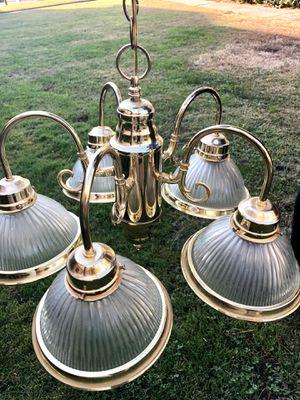 Golden Chandelier for Sale in Fresno, CA