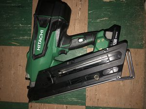 Used battery nail gun for Sale in Lincoln Park, MI