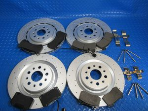 Maserati Ghibli Quattroporte front rear brake pads & rotors PREMIUM QUALITY #6700 NEW 2017 2018 2019 for Sale in Hollywood, FL