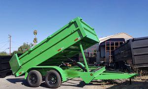 8x12x2 dump trailer for Sale in Riverside, CA