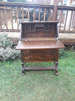 Secretary desk with fold out hutch for Sale in Upper Darby, PA