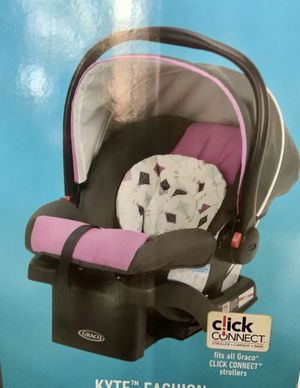BRAND NEW CARSEAT/BASE, used stroller, & multi use cover!!! for Sale in Phoenix, AZ