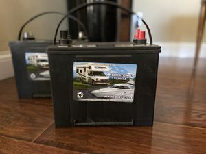 12 V Deep Cycle RV Marine Boat Battery for Sale in San Diego, CA