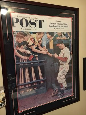 Stan Musial Saturday Evening Post autographed for Sale in Portland, OR