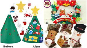 All brand new in package Christmas decor bundle free snowman cookie jar with purchase for Sale in Hawthorne, CA