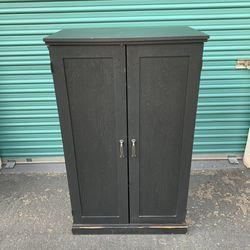 Black Work Station / Armwar Cabinet for Sale in Fullerton,  CA