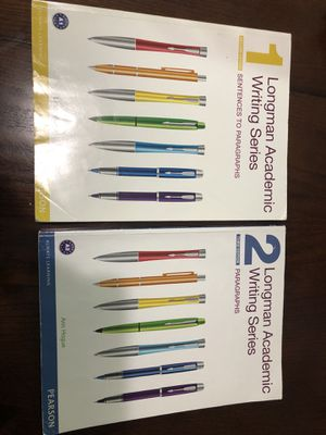 Longman Academic Writing Series 1 and 2 for Sale in Hialeah, FL