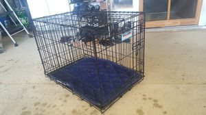 Dog Crate with Cushion 21 x 19 x 30 for Sale in Watauga, TX