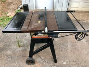 craftsman table saw for Sale in Houston, TX
