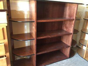 Elegant very solid wood custom book shelf for Sale in Fresno, CA